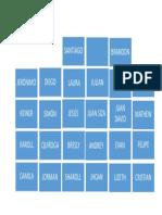 Mapa Del Salón