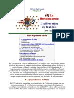 Histoire Du Français 1