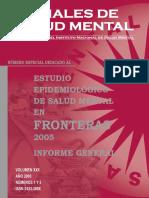 Anales de Salud Mental- Fronteras