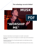 elon - behind the facade -