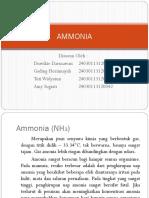 Tugas Kim. Nonair (Ammonia)