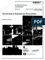 Training Course in Geotechnical and Foundation Engineering - Geotechnical Earthquake Engineering- Reference Manual