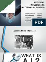 Artificial Intelligence (Kecerdasan Buatan)