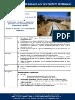 Ficha Técnica Durmientes de Concreto UNICON