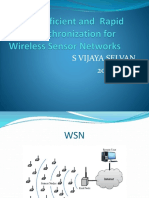 Energy-Efficient and Rapid Time Synchronization for Wireless Sensor