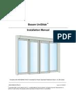 US23-0920-02 UniSlide Install Manual Rev D (12!16!2010)