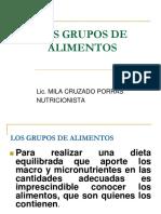 Clase Teorica No 3 Los Grupos de Alimentos