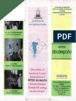 La Alfabetización Compromiso de Todos, Honduras, 1998