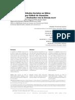 Deficit en habilidades sociales en niños con TDAH.pdf