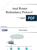 04 Virtual Router Redundancy Protocol
