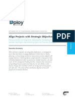 Align Projects With Strategic Objectives