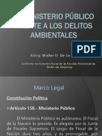 El Ministerio Publico Frente a Los Delitos Ambientales