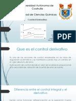 Control Derivativo