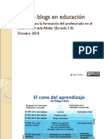 Uso Blogs en Educacion