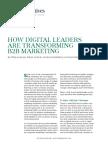 BCG How Digital Leaders Are Transforming B2B Marketing 2017