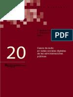Casos de Exito en Redes Sociales Digitales de Las Administraciones Publicas