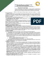 2 Clase Estructura Del Proyecto e Instrumento 2017