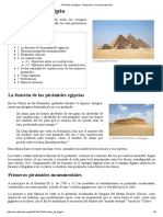 Pirámides de Egipto - Wikipedia, La Enciclopedia Libre