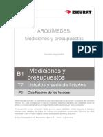 0176 T7 P2 ClasificacionListados