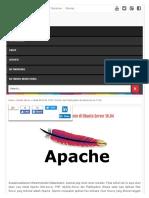 Install APACHE, PHP5, MySQL Dan PhpMyadmin Di Ubuntu Server 16