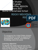 6th Social Studies Rocky Mountain Region Sep 22 Ppt 2017