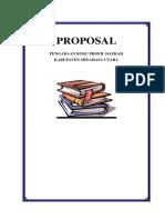 Proposal Buku Profil