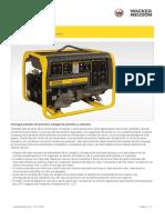Ficha Tecnica Generador Gp 5600a