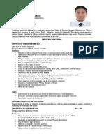 CV - Juan Esquiche