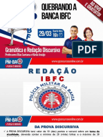 Redação - Pm-ba (Ibfc)
