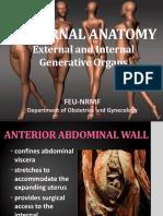 1. External & Internal Generative Organs Organs