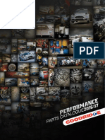 Goodridge Catalogue Performance Parts