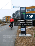 Evaluating Complete Streets Projects