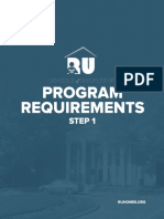 RU Program Requirements