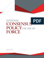 National Consensus Policy on Use of Force