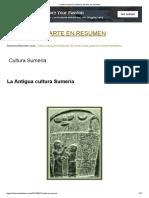 Cultura Sumeria _ Historia Del Arte en Resumen