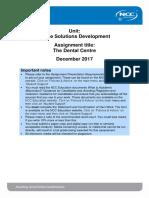 OSD Assignment December 2017