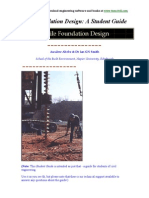 Pile Foundation Design