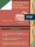 acrilicos y clasificacion