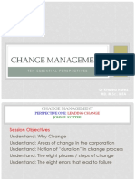 ESLESCA Change Management One
