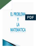 El Problema y La Matematica