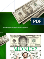 Banknote Production Process