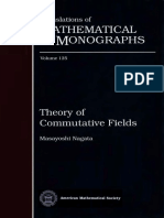Theory of Commutative Fields - Masayoshi Nagata