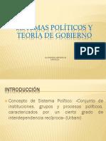Sistemas Políticos y Teoría de Gobierno