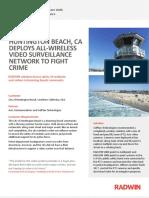 Crime Prevention Video Surveillance in Huntington Beach' California