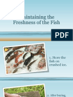 Maintaining the Freshness of the Fish 2.pptx