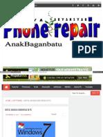 Instal Bahasa Indonesia di PC atau Leptop