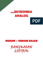 5 ANALISIS RANGKAIAN