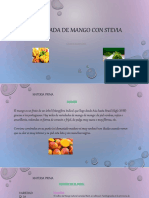 Mermelada de Mango Con Stevia