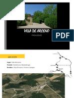Villa de Arceno