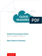 R13-Procurement New Features Summary